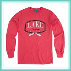 Our classic, relaxed fit tee shirt sporting a new design for Lake Time.