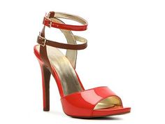 Jessica Simpson Iyana Patent Sandal in Red