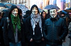 anonymous mask from the world - Google Search