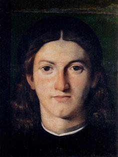 Lorenzi Lotto, Head of a young man