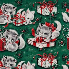 Creative: Eleven Vintage Christmas Gift Wraps