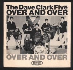 The Dave Clark Five, an English pop rock group that were competing with the Beatles in 1960s. This image is very interesting because it shows the style of the band as well as the style of the poster during that period of time.