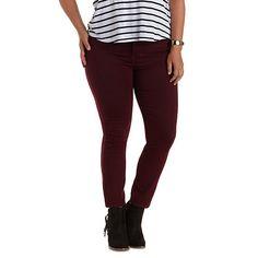 """Plus Size Refuge """"Hi-Waist Super Skinny"""" Jeans"""