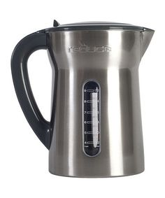 Made From Stainless Steel This Elegant Water Filtration Pitcher Features A Window So The Level Is Always Visible It Works With Major Filter Brands