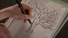 lydia martin tree drawing