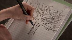 lydia martin tree drawing