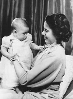 Princess Elizabeth and the little Charles / United Kingdom