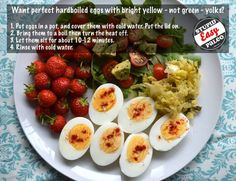 How to make perfect boiled eggs