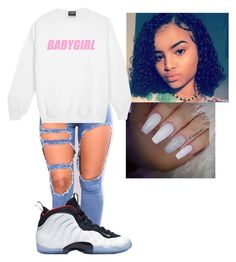 """""""untitled 1#"""" by issaxjackson ❤ liked on Polyvore featuring NIKE"""