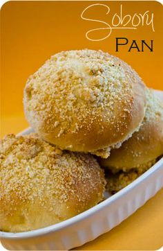 Soboru Pan {Sweet Bread with Peanut Butter Crumbles} this would be right up Joe's alley!  I might just have to try the recipe.