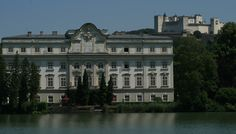 Sound of Music - Von Trapp house - Salzburg Austria ( i saw the house from the fortress behind it!