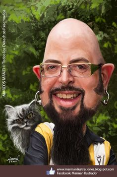1000 images about caricaturas marman caricatures and for Jackson galaxy images