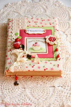 A handmade recipe notebook! Love it!!!!