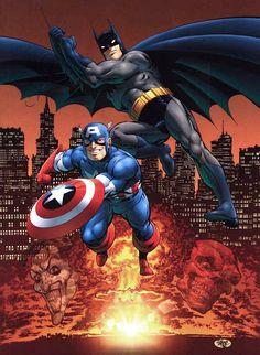 Captain America e Batman