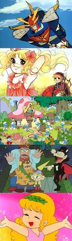 Altre cinque grandi sigle dei cartoni animati degli anni '80