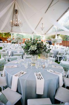Wedding Ideas By Colour: Pastel Blue Wedding Theme - Venue style | CHWV #weddingideas