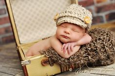 baby photo - love the props