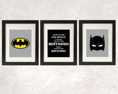 Hey, I found this really awesome Etsy listing at https://www.etsy.com/listing/199937856/always-be-batman-prints-superhero-decor
