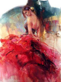 Le FLAMENCO vu par : Anna RAZUMOVSKAYA 03 /Flamenco solea 2