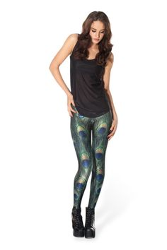OMG - Next present to self. :) Peacock Leggings › Black Milk Clothing