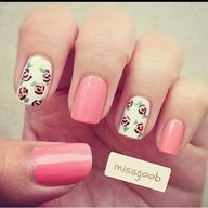 Found some cute nail designs on my app!!