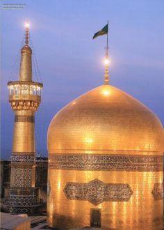 Cúpula do Santuário do Imam Rida (AS), Mashad, Irã | Galeria de Arte Islâmica