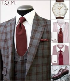 SUNDAY/SPECIAL OCCASION STYLE: King & Bay(Suit)-Boss(Watch)-Paul Fredrick(Shirt/Tie Options)-Andante Shoemaker(Shoes)