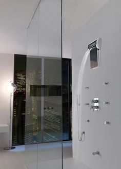 Jaclo Waterfall and Rainshower / toggle between the two by rotating the panel down