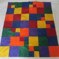 Rainbow Quilt Pattern - via @Craftsy