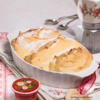 Salzburger Nockerln Mashed Potatoes, Pudding, Europe, Ethnic Recipes, Desserts, Food, Dessert Ideas, Easy Meals, Food Food