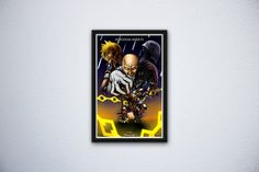 Kingdom Hearts Birth by Sleep 11x17 by FPArtistry on Etsy