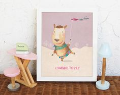 Our Nursery animal art prints want to be part of this celebration for welcoming your little ones, and be part of the love you put to surrounding him or her. Let every baby discover the beauty of art from the day you bring them home.   Animal print, llama print  ....................................   PRODUCT DESCRIPTION: =>Prints sizes are 5x7 inches, 8x10 inches and 11x14 inches. =>Professionally printed on heavy matte finish archival matte paper (250gsm) =>Using Epson...
