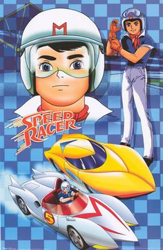 Speed Racer. Love this artwork and how they merge a couple different images.