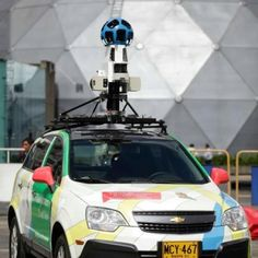 Los carros de Google por Colombia