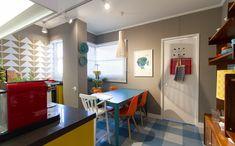 Cozinha retrô: inspire-se no projeto do arquiteto Maurício Arruda para adotar uma decoração vintage - Decora - GNT