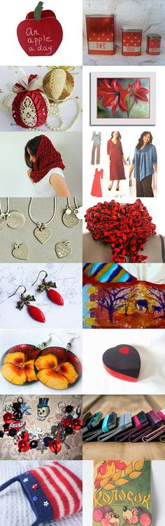 Candy Apple Red by Linda on Etsy--Pinned with TreasuryPin.com