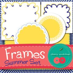 FREEBIE - Frames - Summer Set