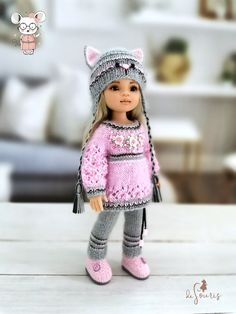 Knitted Dolls, Knitted Hats, Crochet Hats, Baby Born, Little Darlings, Reborn Babies, Handmade Clothes, Outfit Sets, Baby Knitting