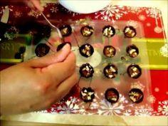 Clases de chocolatería bombones navideños rellenos