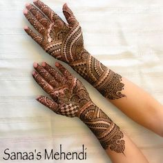 Photo in Mehndi Maharani Finalist Sanaa's Mehendi Mehndi Designs Front Hand, Mehandhi Designs, Latest Arabic Mehndi Designs, Full Hand Mehndi Designs, Henna Art Designs, Mehndi Designs 2018, Stylish Mehndi Designs, Mehndi Designs For Beginners, Mehndi Designs For Girls