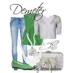 """""""Demeter: Goddess of Agriculture"""" by heroes-fashion on Polyvore"""