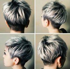 Short Gray Hairstyles 2017 on Pinterest
