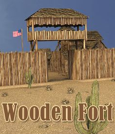 Wooden Fort, Forte Apache, Fort Western, Toy Castle, Wood Craft Patterns, Build A Fort, Westerns, Texture Mapping, Model Train Layouts