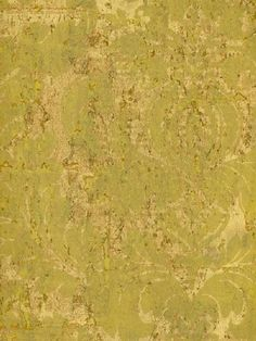 Sold in 3 roll incriments only, Splendor Wallpaper Book, Gold and Gold Cork Damask Wallpaper
