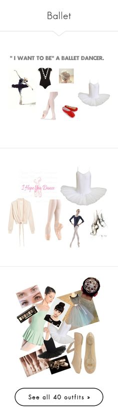 """""""Ballet"""" by nat-fuentes-salas ❤ liked on Polyvore featuring Capezio, Rare London, Black Swan, WALL, Bloch, Nicole Farhi, Bobbi Brown Cosmetics, MIA, Kikkerland and Ulster Weavers"""