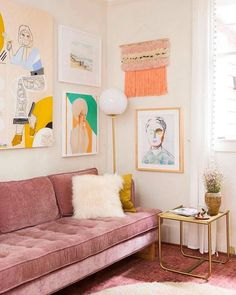 Do not waste your time by remodeling the old look in your living room. Apply the pastel living room interior design ideas here. Pastel Living Room, Small Living Rooms, Living Room Designs, Living Spaces, Blush Living Room, Paintings In Living Room, Colourful Living Room, Living Room Interior, Living Room Decor