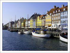 Nyhavn - Copenhagen, Kobenhavn