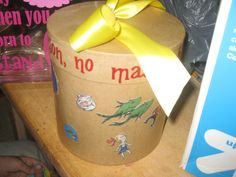 Dr suess baby shower Advice card box! |Pinned from PinTo for iPad|