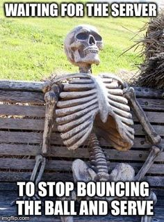 A Waiting Skeleton meme. Caption your own images or memes with our Meme Generator. Crush Memes, Waiting For Someone, Still Waiting, Waiting For Her, Disney Memes, Waiting Skeleton Meme, Otaku, Text Back, Alex Turner