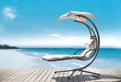 Inspiration - Dreamy Hammock Beach Chair (http://blog.hgtv.com/design/2013/06/28/hammock-beach-chair/?soc=pinterest)